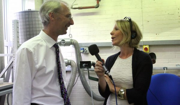 BBC Berkshire visits Blatchford in Basingstoke