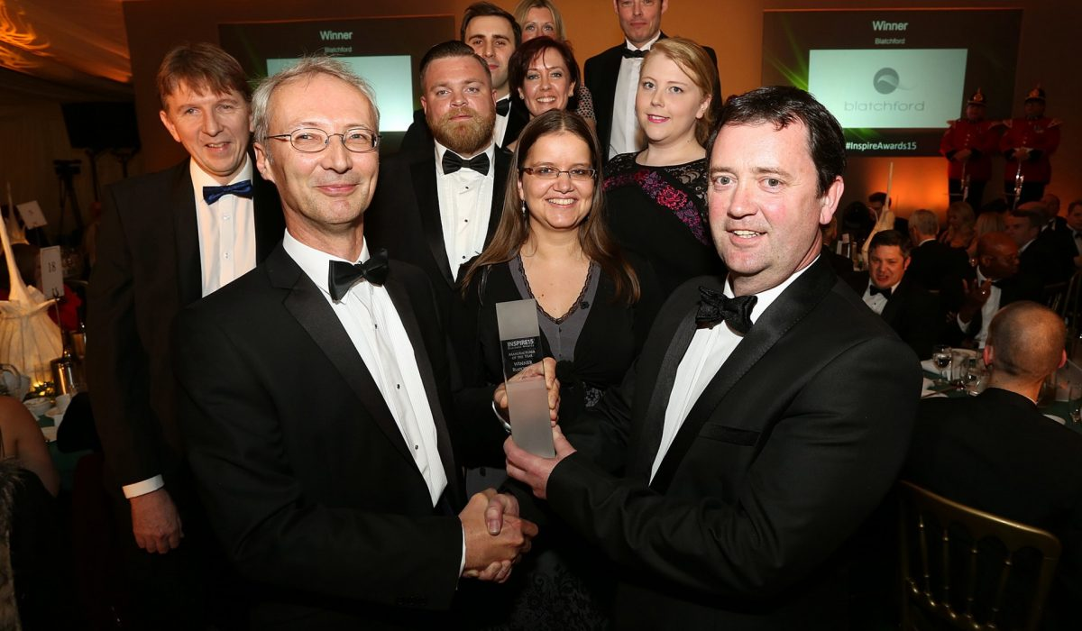 Blatchford wins Manufacturer of the Year 2015 Award