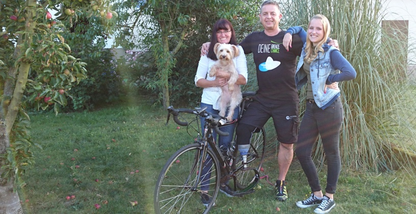 From Germany to the UK: An Amputee's 1000km Cycle Across Europe