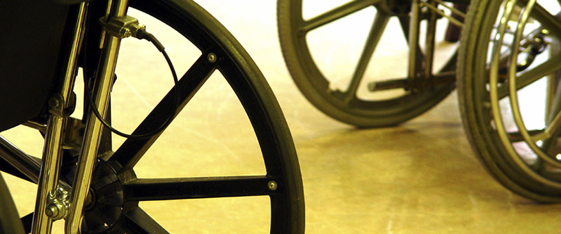 Wheelchair Amnesty at Blatchford Leicester NHS Clinic