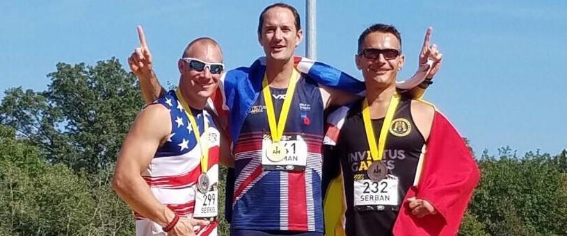 Bruce wins gold at the 2017 Invictus Games thanks to his Momentum brace