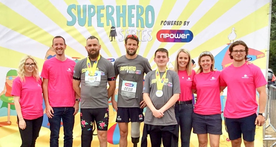 Blatchford Has a Super Time at Superhero Series 2018