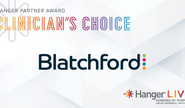 Blatchford earns Hanger Partner Award for Clinician's Choice